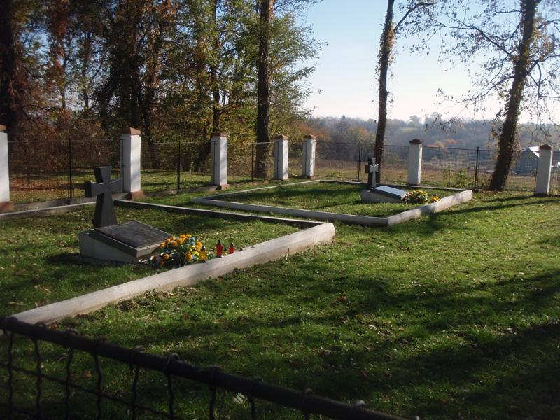 Фото 4. Поховання воїнів УПА.