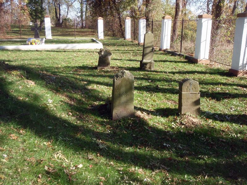 Фото 5. Поховання часів Першої світової війни.